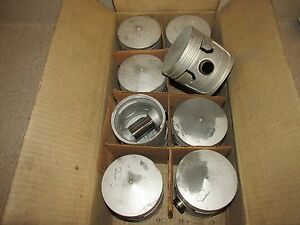 New 1932 36 Ford Flat Head V8 8 2p 030 Dome Piston Set