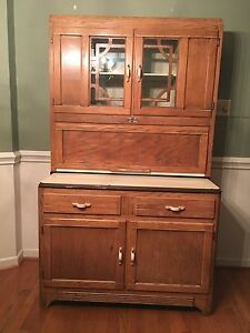 Sellers Antique Cabinet With Flour Bin