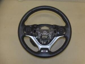 V3747 Honda Civic Si 2012 2013 2014 2015 Oem Steering Wheel Leather Red Piping