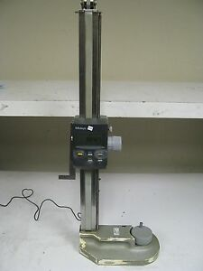 Mitutoyo Hdf 24 n 574 210 1 Digital Height Gage Fi32