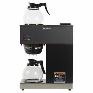 Bunn Vpr Commercial 12 cup Pour over Coffee Maker Brewer With 2 Glass Carafes