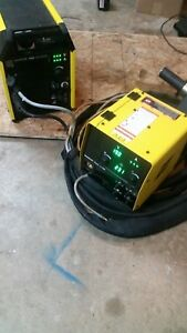 Esab Warrior 400i Mv Cc cv Multivprocess Welder Mig stick tig Ready To Weld