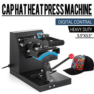 6 X 3 5 Cap Hat Heat Press Machine Heating Transfer Machine Diy Print Pattern