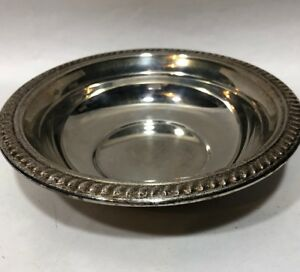 Fb Rogers Silver Co 1883 Small Silver Bowl Ornate