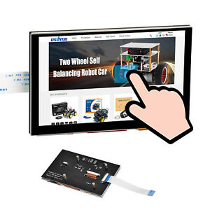 5 Rpi Lcd Touch Screen Tft Raspberry Pi Display Dsi Connector 800x480