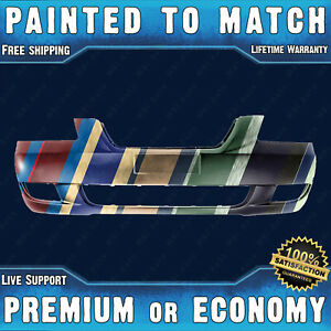 Painted To Match Front Bumper Replacement For 2006 2008 Hyundai Sonata 06 08