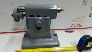 Yuasa 6 7 Adjustable Tail Stock Milling Machine Indexing Head Rotary Table