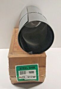 New Old Stock Precision Brand 0 012 305mm Gauge 12 X 120 Steel Shim 16490