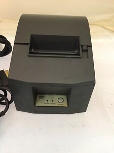 Star Micronics Tsp600 Point Of Sale Thermal Printer W 9 Thermal Paper Rolls