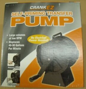 Crank Ez Self priming Positive Displacement Pump