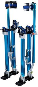 Professional Adjustable Blue Drywall Stilts Painting Dry Walling Assist 24 40
