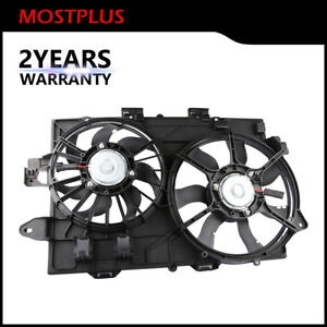 Radiator Cooling Fan Assembly For 2006 2008 Chevy Equinox Pontiac Torrent 3 4l