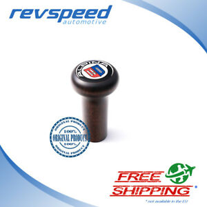 Alpina Gear Shift Knob Matte Wood For Bmw Push On Type All Models After 1980