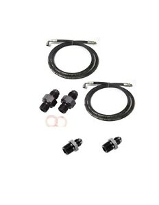Automatic Transmission Cooler Line Kit 8an High Pressure Hose Dodge 48re Crimp