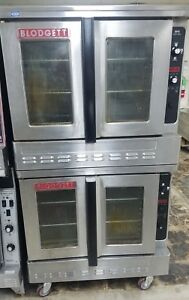 Dfg 100 Blodgett Double Deck Convection Oven Used