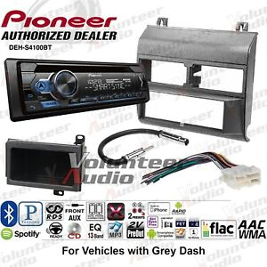 Pioneer Deh S4100bt Single Din Car Cd Stereo Radio Install Dash Mount Kit