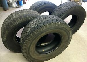 4 Lt315 70r17 Bf Goodrich Bfg All Terrain 3ply Sides Baja Champion Tires