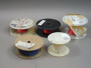 Lot Of 800 Spool Wire Red White Blue Single Multiple Wire Universal Aircraft