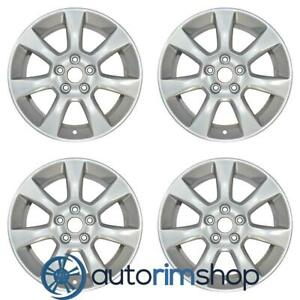 New 17 Replacement Wheels Rims For Cadillac Ats 2013 2016 Set Silver 4702