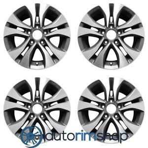 New 16 Replacement Wheels Rims For Honda Accord 2013 2015 Set Silver 64046