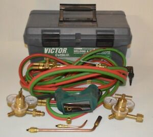 Victor Medium Duty Welding And Cutting Outfit Oxy Acetylene Previously Owned