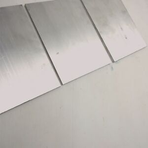 375 X 8 Aluminum Solid 6061 Flat Bar 9 625 long Mill Stock Pieces 3 Sku K608
