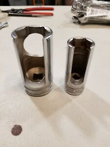 Snap on S9840a 1 1 4 And S9842 7 8 1 2 Drive Thermal Vacuum Switch Sockets