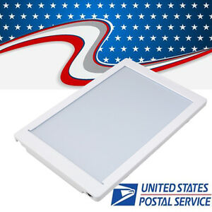 Us Dental X ray Light Box Xray Film Illuminator Light Panel 11 8 5 View Area