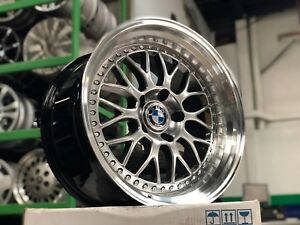 New 18 Inch Staggered Bbs Classic Design Wheel Bmw Set Of 4 Bmw E60 E65 E38 Z4