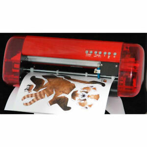 A3 Stickers Cutter Vinyl Cutter Plotter Cutting Machine Contour Cut Function New