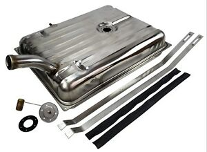 1956 Ford Merc Stainless Steel Gas Tank With Sender Straps Fuel Tank Kit