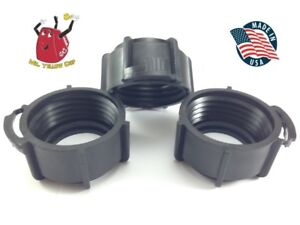 3 Blitz Gas Can Black Nozzle Spout Retaining Rings Replacement Vintage New
