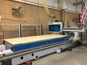 Used Weeke Bhp200 Cnc Nesting Machine Center