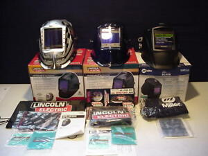 New Lot3 Lincoln Viking 3350 Miller Elite Auto Darkening Welding Helmet K3100 3