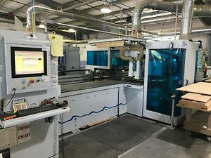 Used Weeke Bhx500 Cnc Flexible Machine Center
