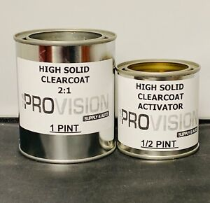 2 1 Hs Clearcoat Pint Quart Gallon Ready To Spray Choose Your Size High Solids