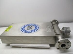 Micromotion Ds150s141 Mass Flow Sensor Used