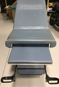 Ritter 104 Medical Exam Table Bed Adjustable Blue