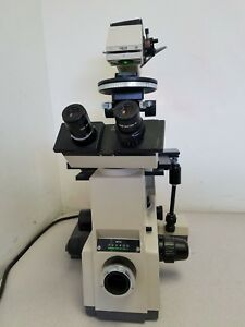 Olympus Inverted Microscope Imt 2 Hoffman Modulation Contrast hmc W 5 Objs