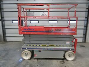 2010 Skyjack 3226 Platform Scissor Lift Vertical Manlift Aerial Lift Jlg Iowa