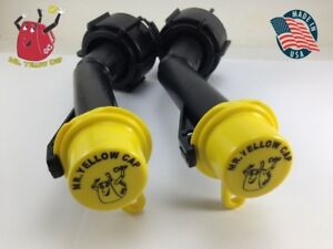 2 Blitz Gas Can Nozzle Spouts Rings Caps Replacement Vintage 900302 900092