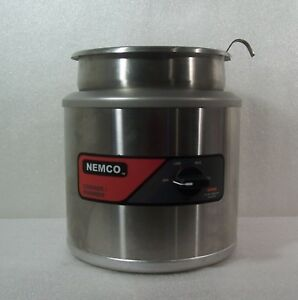 Nemco 6102a Round Cooker Warmer Soup Steamer Complete W Inset Cover