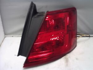 2015 Ford Taurus Right Tailight W Police Package