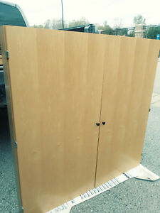 Conference Room Cabinet Enclosed White Board 48 X 48 Nice