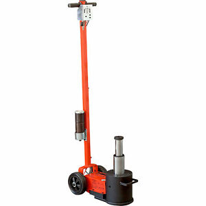 Esco Yak 44 22 Ton Heavy Duty Air Hydraulic Service Floor Jack Model 92004
