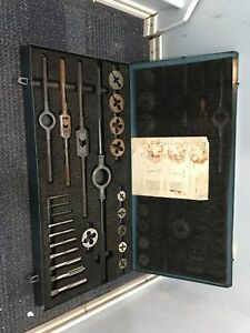 Greenfield Little Giant Us Screw Threading Tap And Die Set Nsn 5180 00 448 2362