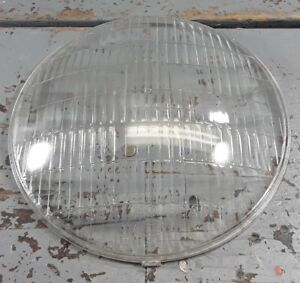 New Vintage Ford Script Convex Dome Headlight Lens 6 7 8 1930 S Sealed Beam