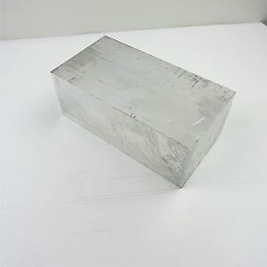 4 Thick 6061 Aluminum Plate 6 X 12 5 Long Solid Flat Stock Sku137450