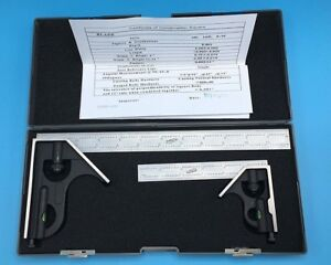 Igaging 34 212 26 6 And 12 Combination Square Boxed Set