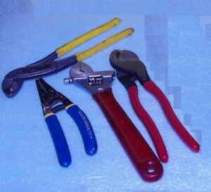 Klein Plyers cable Cutter Tool Kit More